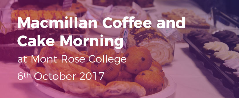 Macmillan-Coffee-and-Cake-Morning-mrc | Mont Rose College